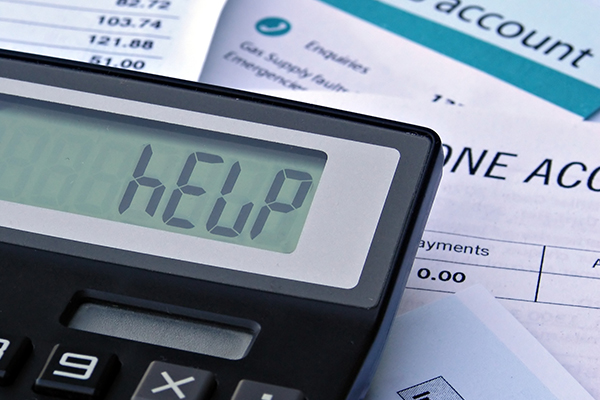 Word help on calculator screen