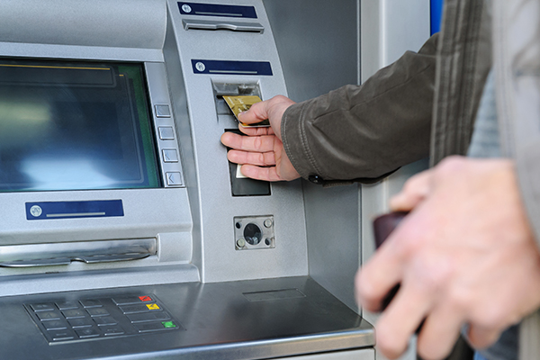 Withdrawing Cash at an ATM