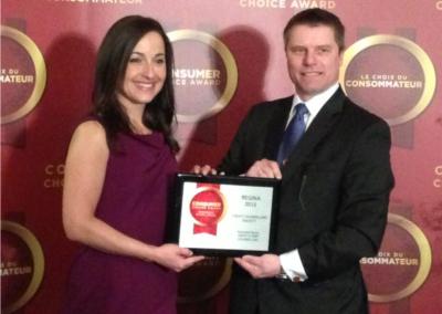 Credit Counselling Society Chosen for Consumer Choice Award in Regina, Saskatchewan