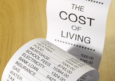 Manage Your Cost of Living by Organizing Finances