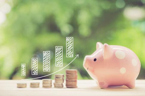 Piggy bank debt payments