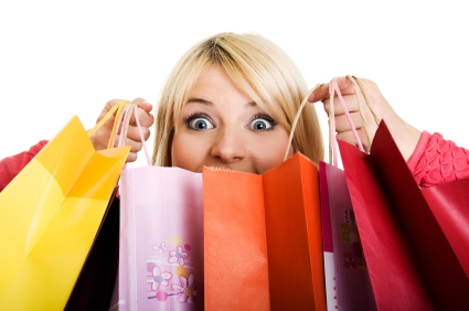 Retail therapy is one way people often deal with debt stress